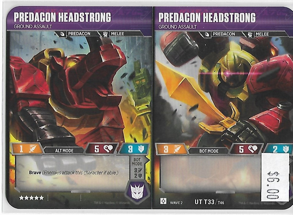 TRANSFORMERS PREDACON HEADSTRONG