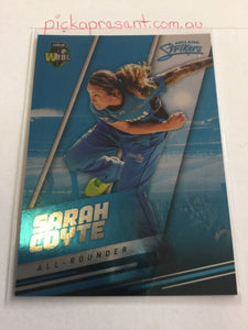 18/19 Tap N Play Parallel 068 SARAH COYTE Adelaide Strikers