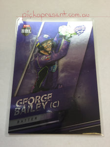 18/19 Tap N Play Parallel 093 GEORGE BAILEY Hobart Hurricanes