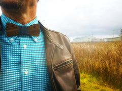 "* Wooden Bow Ties with Interchangeble ""Knots"""