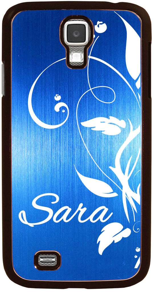 newest 276ef addf4 S4 // Personalized BLUE Samsung Galaxy S4 Aluminum Case - You choose from 8  Designs!
