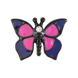 Butterfly Floating Locket Charm