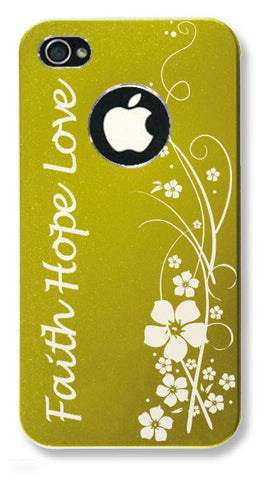 iPhone 4s // Personalized GREEN iPhone 4s Aluminum Case - You choose from 8 designs!