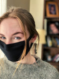 Double Layer Cotton Face Mask with Sewn in Double Wire Nose Clip