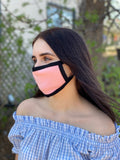 Double Layer Cotton Face Mask with Sewn in Metal Nose Clip