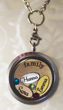 Personalized Floating Locket Name Charm for Close to Your Heart Lockets