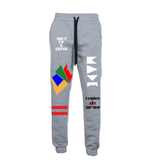"""Love Made"" fleece joggers"