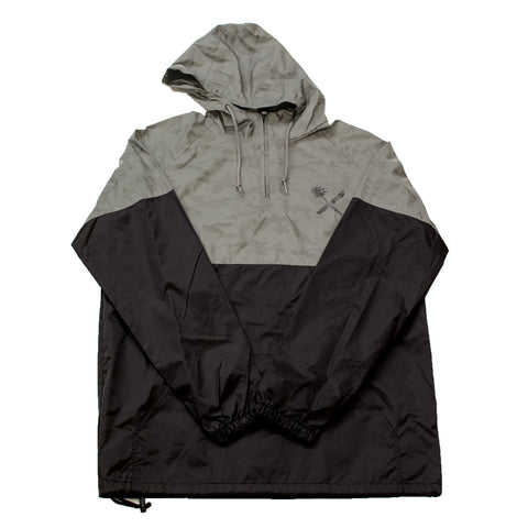 REFLECTIVE CAMO HOODED ANORAK