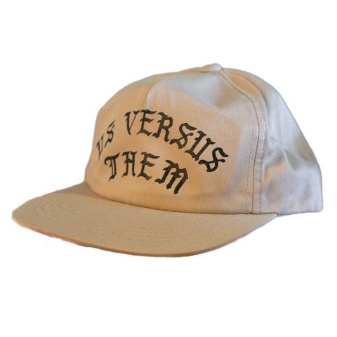 GOTHIC UNSTRUCTURED TAN CAP