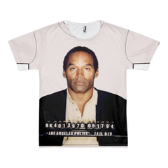 OJ Simpson Mug Shot All Over Shirt