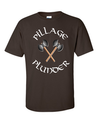 Vikings T-shirt Pillage and Plunder