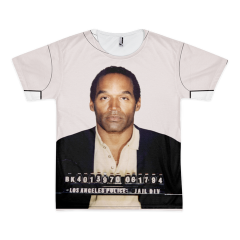 OJ Simpson mug shot  allover t-shirt