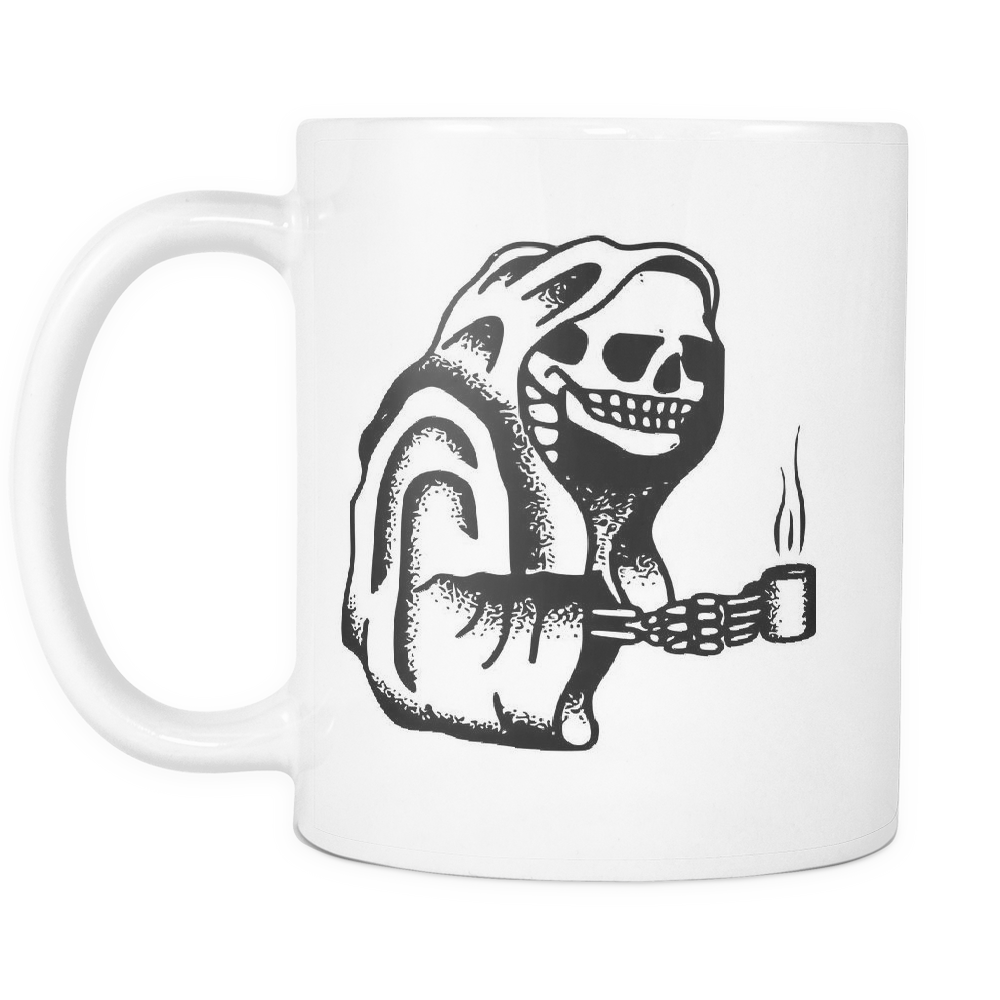 Death Warmed Over Mug White