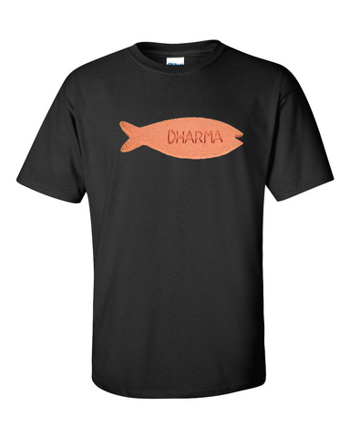 Lost Dharma Fish Biscuit Tshirt