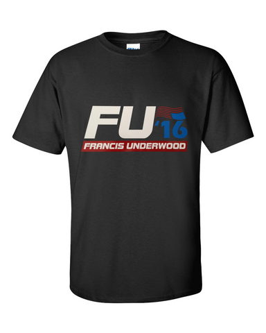 Frank Underwood 2015 Tshirt Black