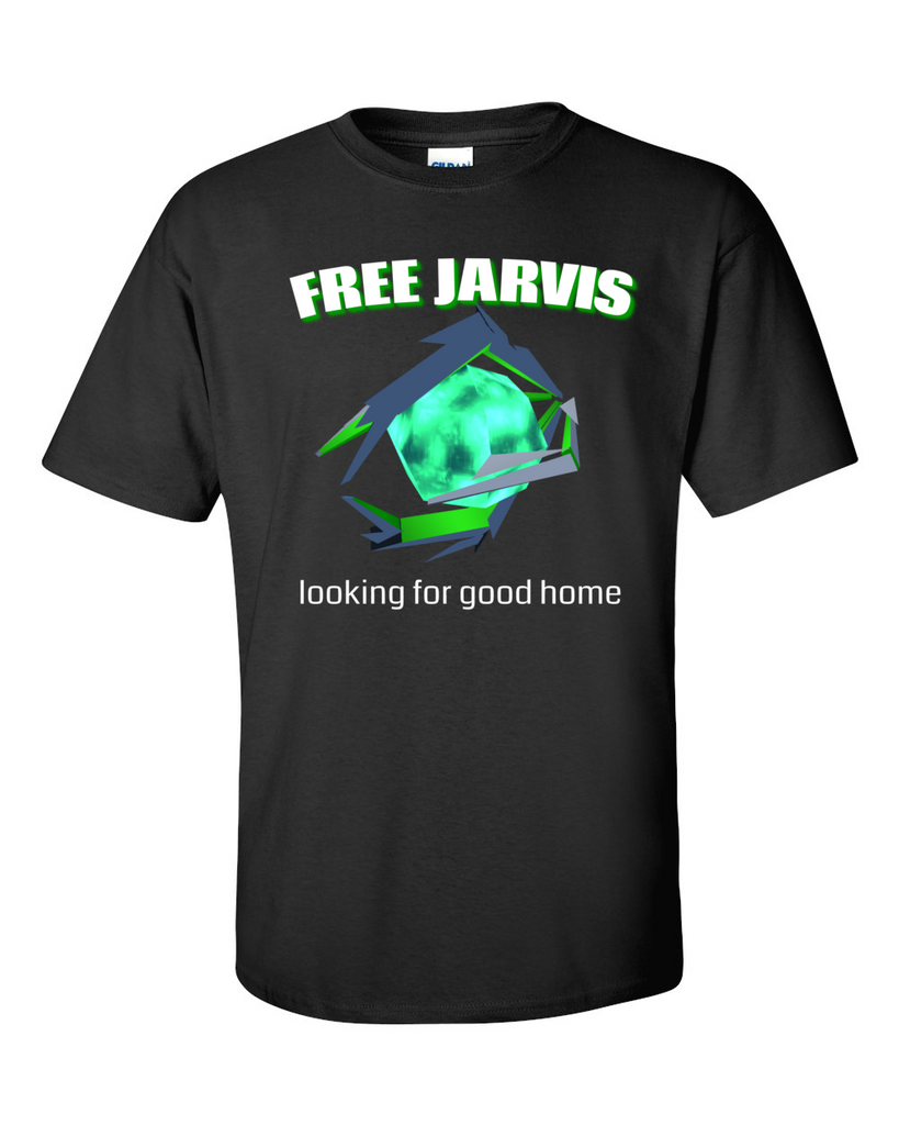 Ingress Jarvis Needs A Home Tshirt