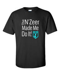 Ingress T-shirt The N'Zeer Made Me Do It - Resistance (black)