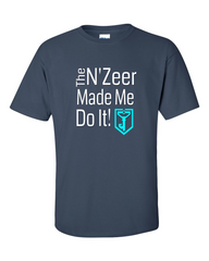 Ingress T-shirt The N'Zeer Made Me Do It - Resistance (dark blue)