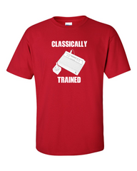 Atari Classically Trained Old School Gamer Red T-shirt
