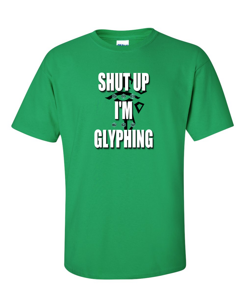 Ingress Enlightened T-shirt - Shut Up I'm Glyphing