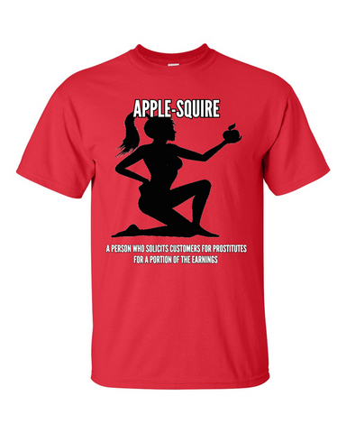 Apple-Squire Tshirt Red