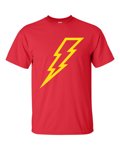 The Flash Super Hero Icon Red Tshirt