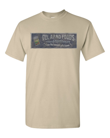 The Walking Dead Del Arno Foods Tshirt Sand