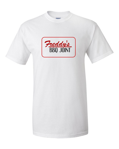 House of Cards Freddy's BBQ Joint T-shirt -- White