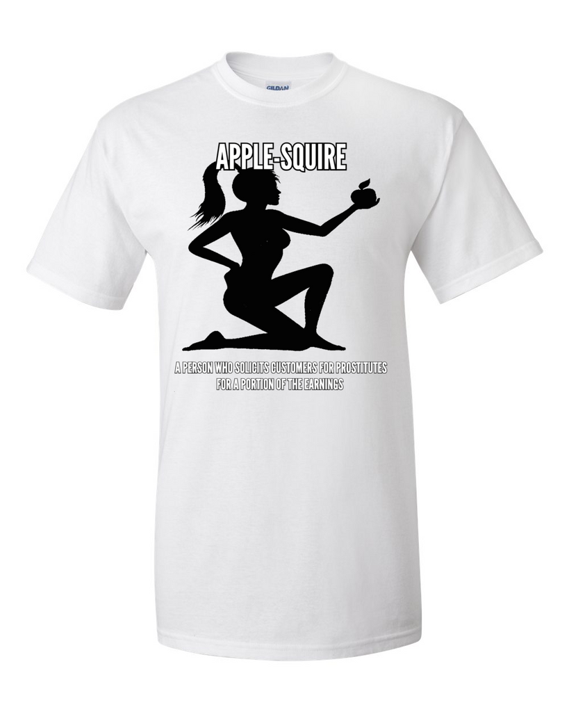 Apple-Squire Tshirt White