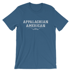 Appalachian American T-shirt -- Steel Blue