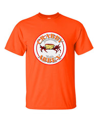 Ash vs. Evil Dead Crabby Abbey T-shirt -- Orange