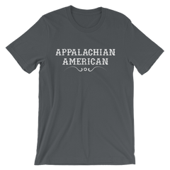 Appalachian American T-shirt -- Grey