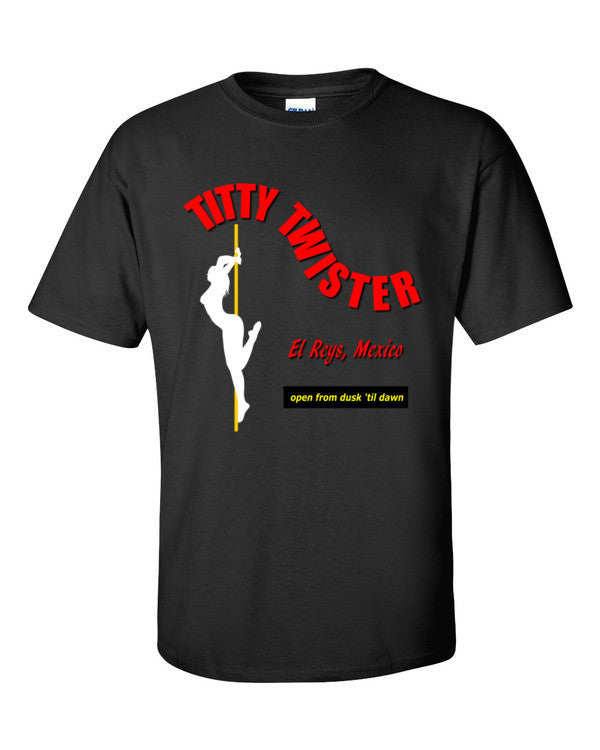 From Dusk Til Dawn Titty Twister T-shirt -- Black
