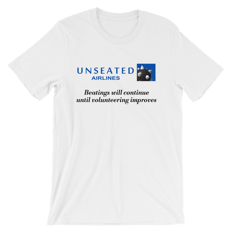 Airline Beatings Parody T-shirt