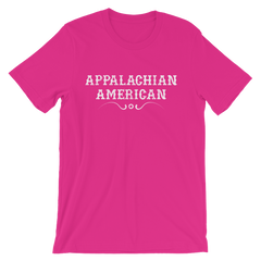 Appalachian American T-shirt -- Berry