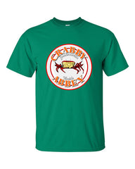 Ash vs. Evil Dead Crabby Abbey T-shirt -- Green