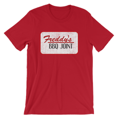 House of Cards Freddy's BBQ Joint T-shirt -- Red
