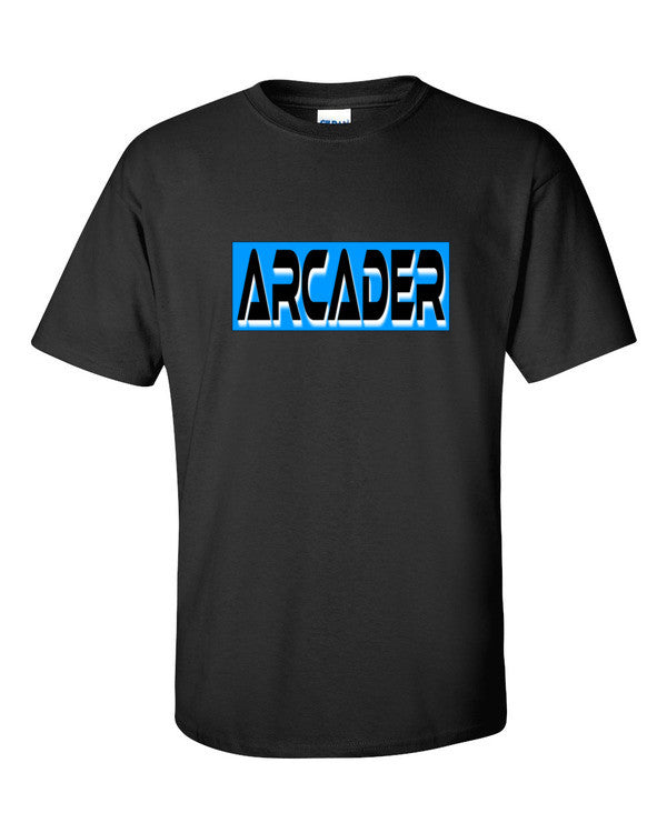 Arcader from Pixels Tshirt Black