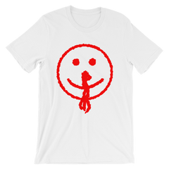 Bloody Smiley Face T-shirt from AHS Cult -- White