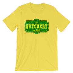 The Butchery on Main T-shirt from AHS Cult -- Yellow