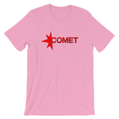 Comet T-shirt from Halt and Catch Fire -- Pink
