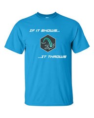 Ingress if it shows it throws link T-shirt -- Bright Blue
