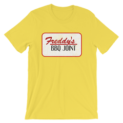 House of Cards Freddy's BBQ Joint T-shirt -- Yellow