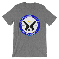 Greater Association of Gun Aficionados T-shirt from Preacher -- grey