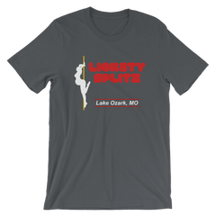 Lickety Splitz T-shirt -- Grey