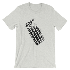 Tire Track T-shirt from The Grand Tour -- Grey