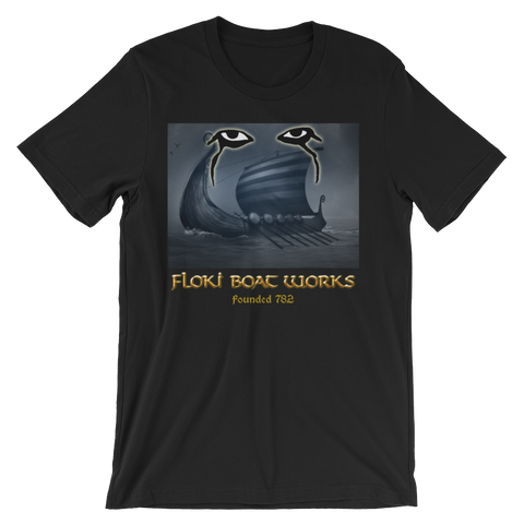 Floki Boatworks Vikings T-shirt