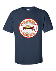 Ash vs. Evil Dead Crabby Abbey T-shirt -- Navy