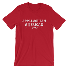Appalachian American T-shirt -- Red