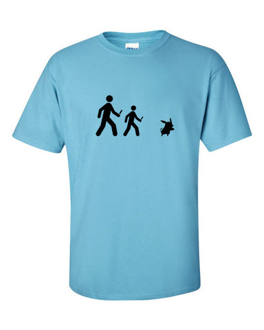 Pokemon Go Players T-shirt -- Light Blue